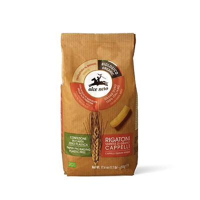 Rigatoni di grano duro Cappelli biologici
