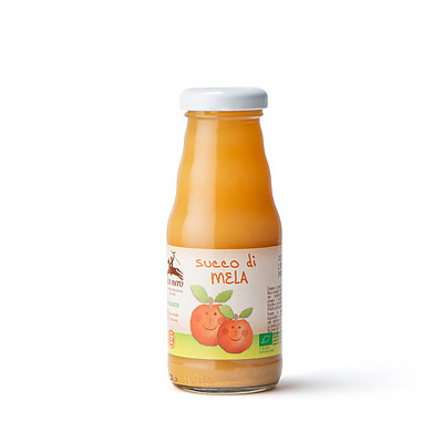 Succo di mela baby food biologico