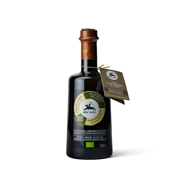 Olio extra vergine di oliva monocultivar Biancolilla biologico
