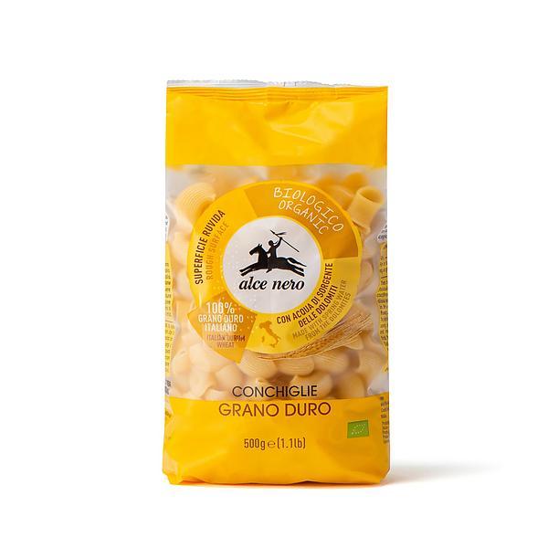 Conchiglie di grano duro biologiche
