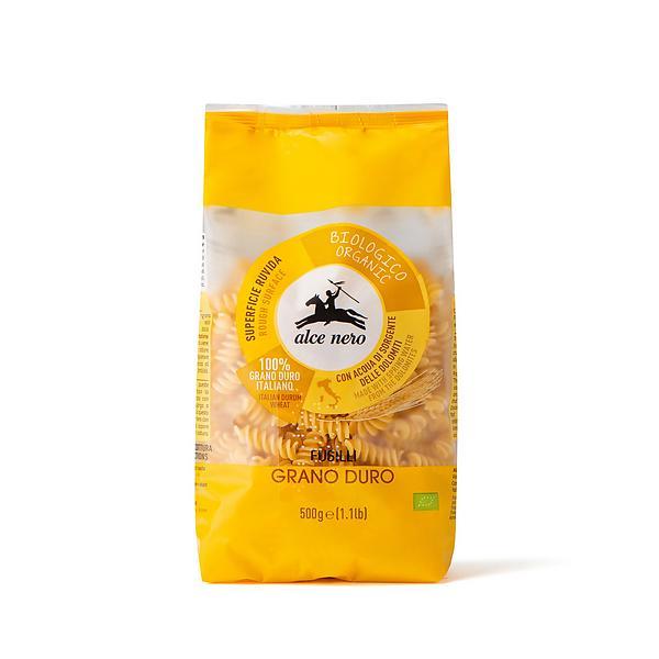 Fusilli di grano duro biologici