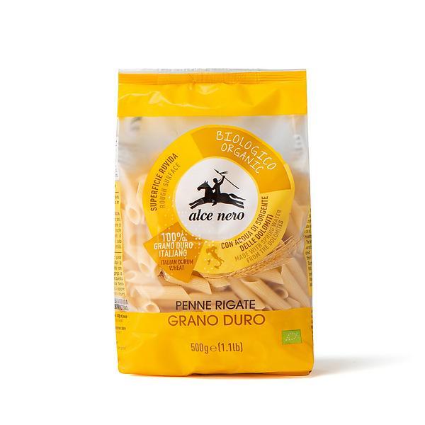 Penne rigate di grano duro biologiche