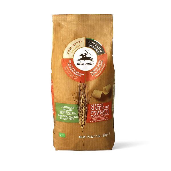 Mezze maniche di grano duro Cappelli - Parchi della Toscana biologiche
