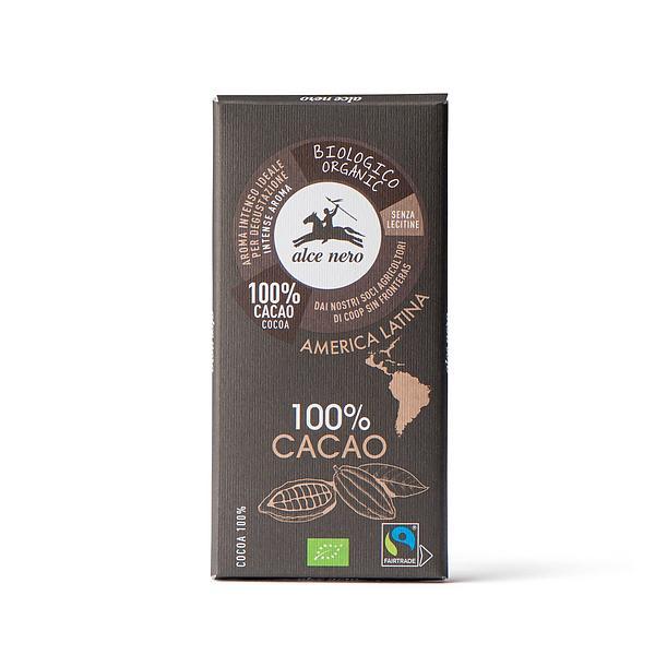 Tavoletta di cacao 100% biologico