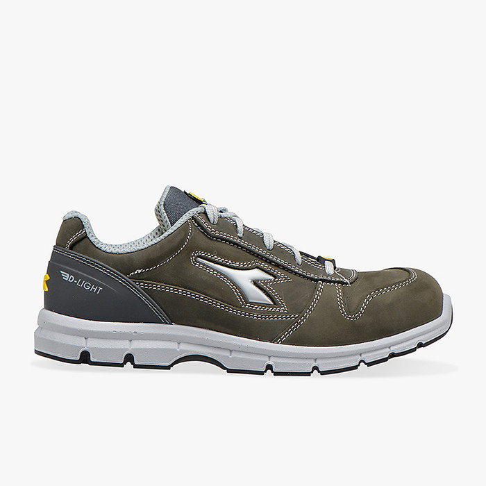 Scarpa DIADORA bassa S3 in nabuk PULL UP, mod. RUN colore