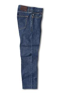 Five-Pocket Stretch Denim Trousers