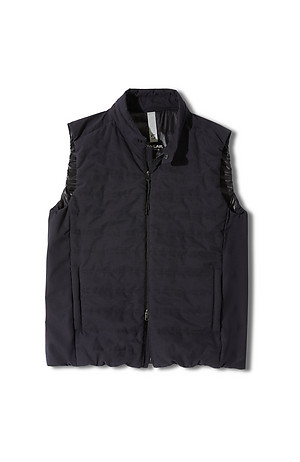 Technical fabric padded vest