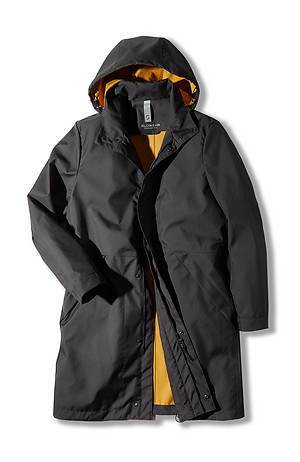 Technical fabric unlined parka